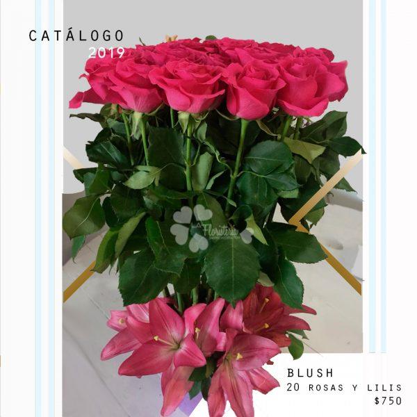 Blush: Roses & Lilis