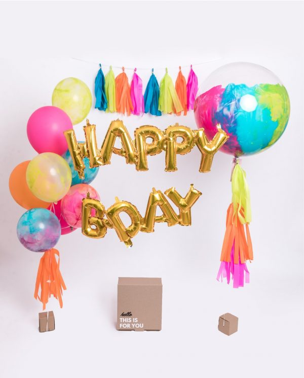 Birthday kit ballon